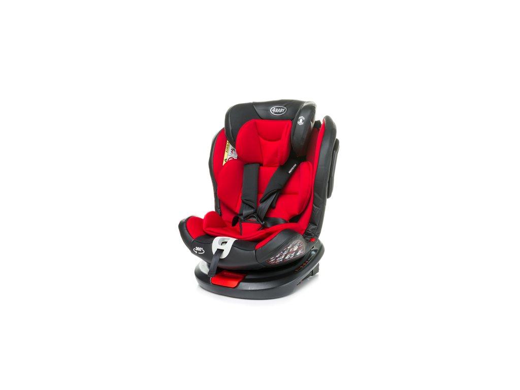 Autosedačka Roto fix 2020 červená 0 36 kg