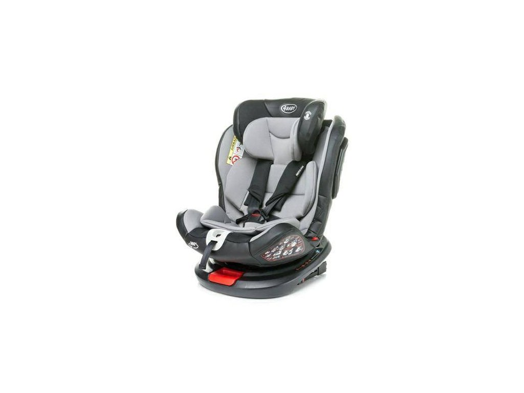 Autosedačka Roto-fix 2020 světle šedá 0-36 kg