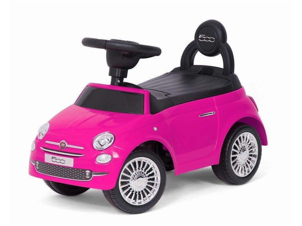 Baby Mix odrážedlo Fiat 500 růžový