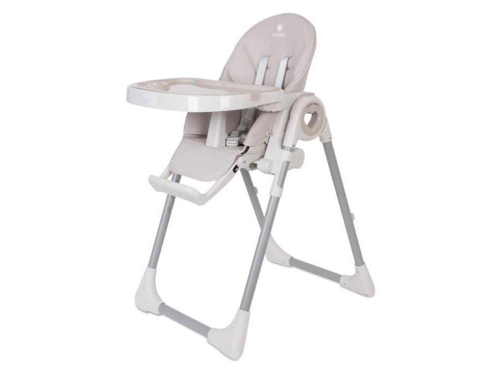 Sun Baby jídelní židlička FIDI LOVE 3v1 latte (1)