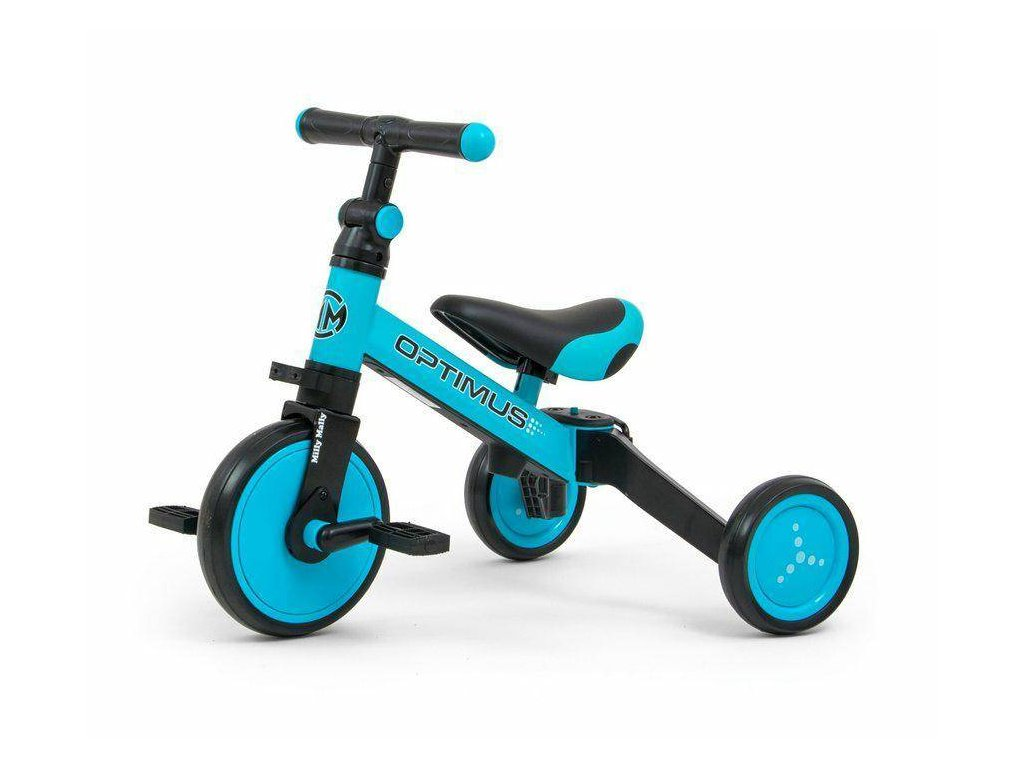 Dětská tříkolka 3v1 Milly Mally Optimus blue