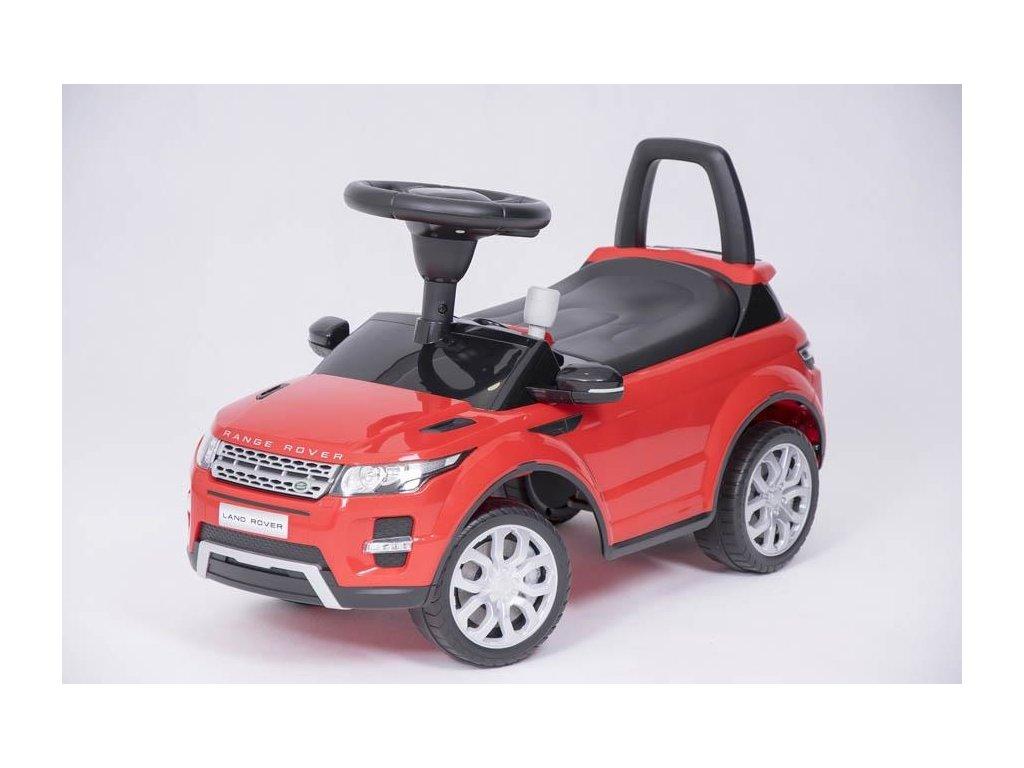 odrážedlo Range Rover červené