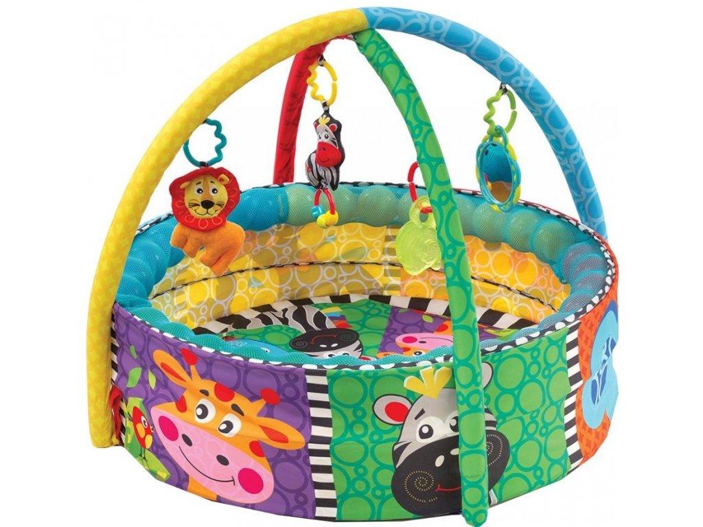 Playgro hrací deka aktivity s míčky