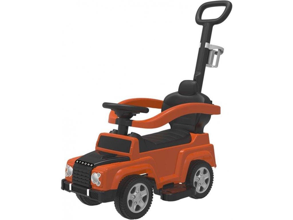 TBK odrážedlo 4v1 Jeep oranžové
