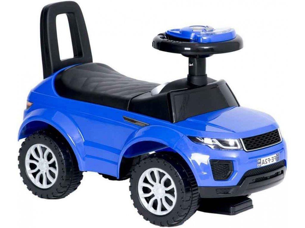 TBK odrážedlo First Range Rover modré