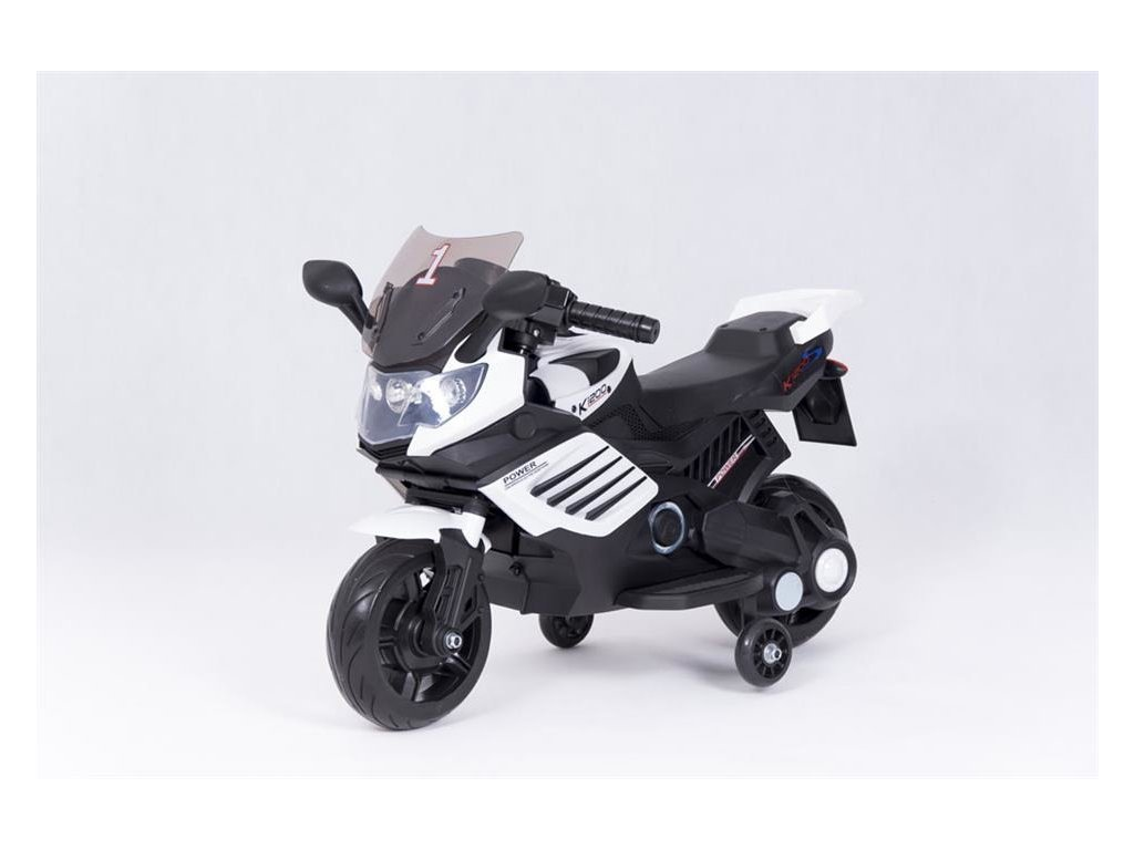 Elektrická motorka K1200 bílá