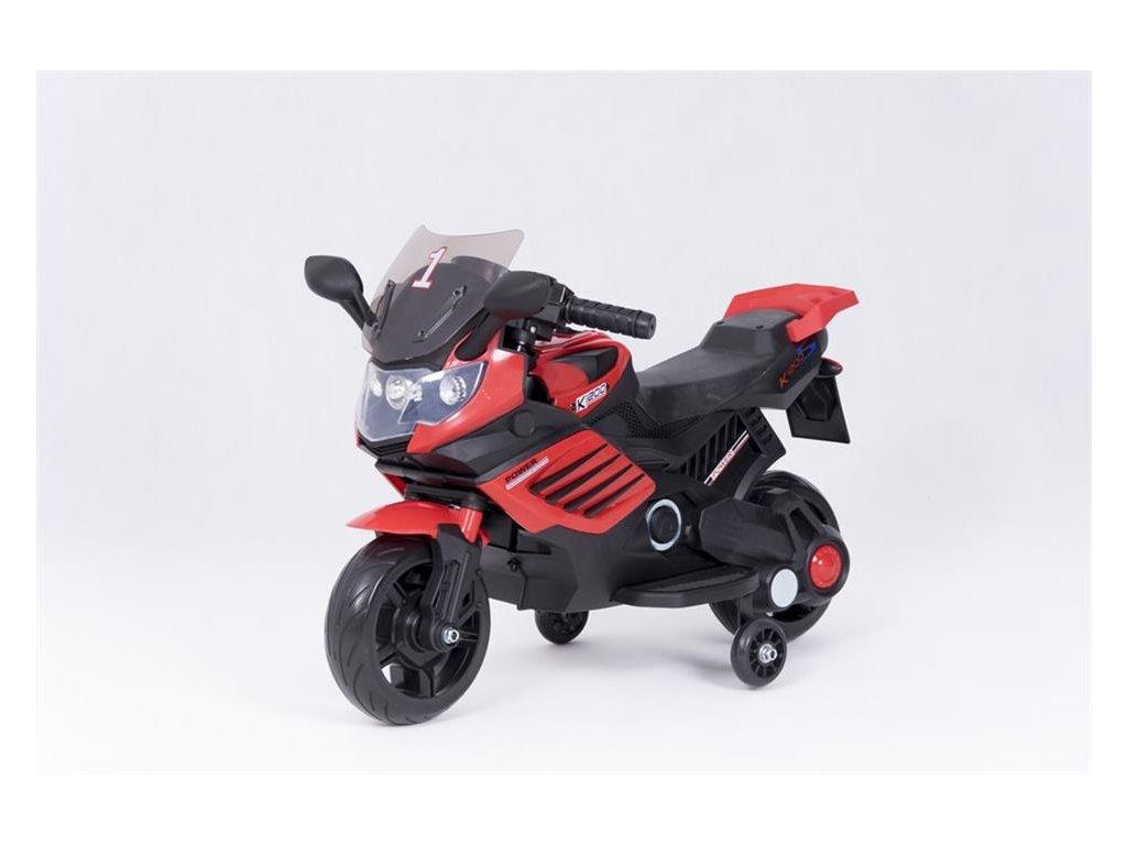 Dětská elektrická motorka K1200 červená