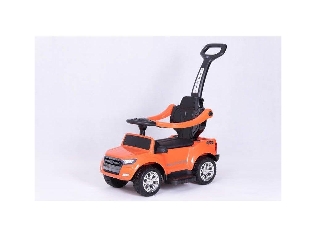 TBK odrážedlo 4v1 Ford Wildtrack oranžové (5)