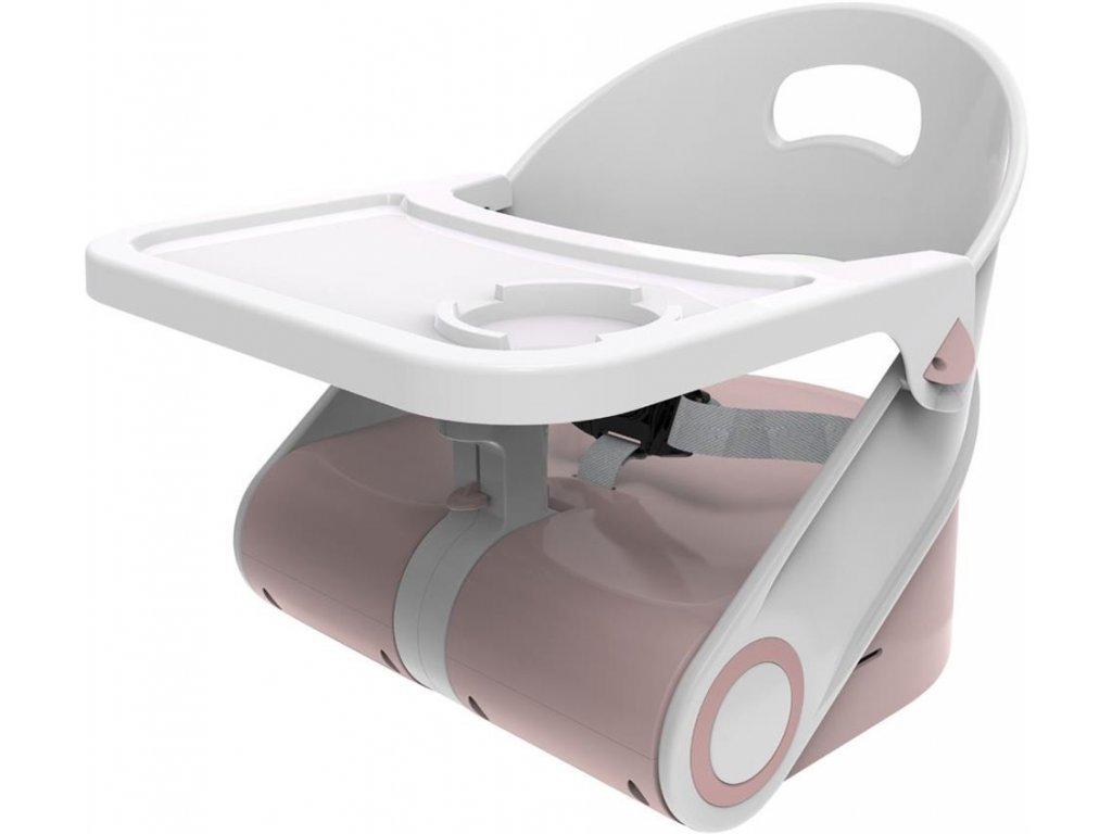 Dětský nástavec na židli Booster Cam růžový