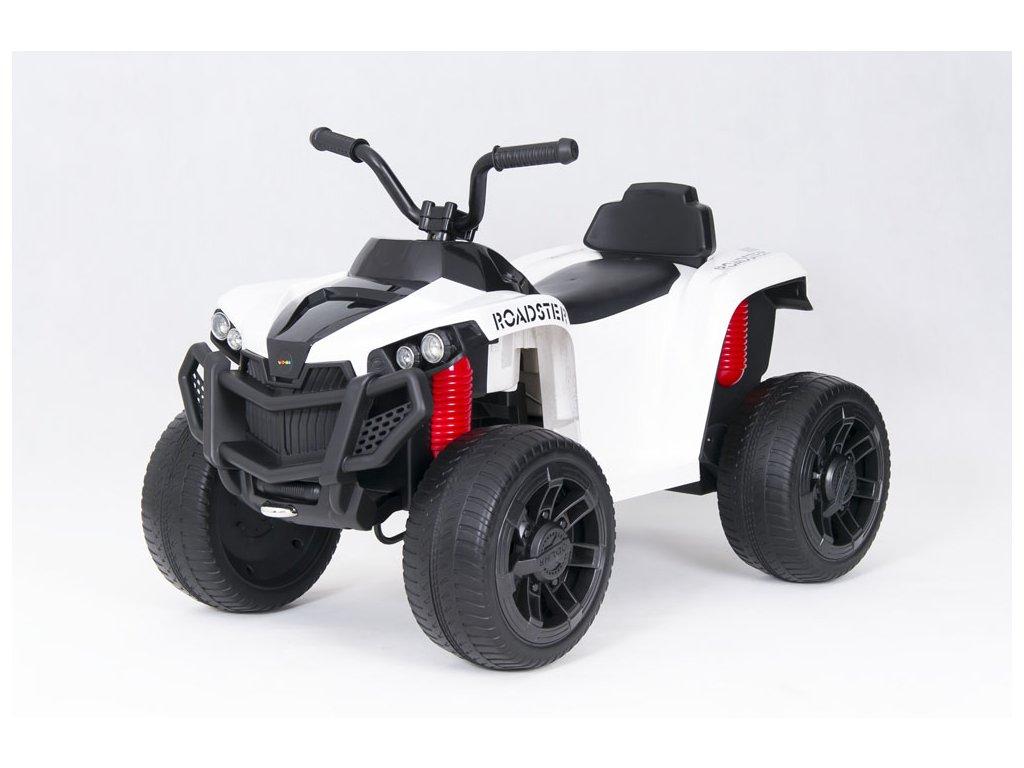 Elektrická čtyřkolka ATV Roadster bílá (6)