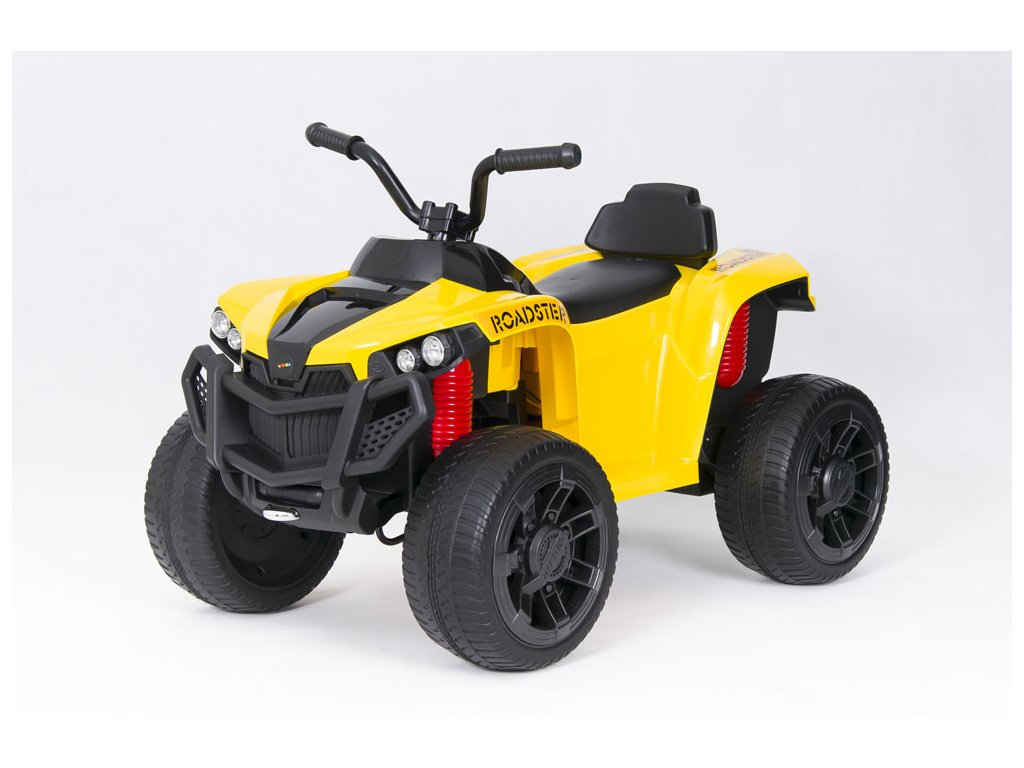 Elektrická čtyřkolka ATV Roadster žlutá (9)