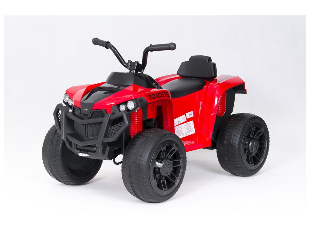 Elektrická čtyřkolka ATV Roadster červená (21)