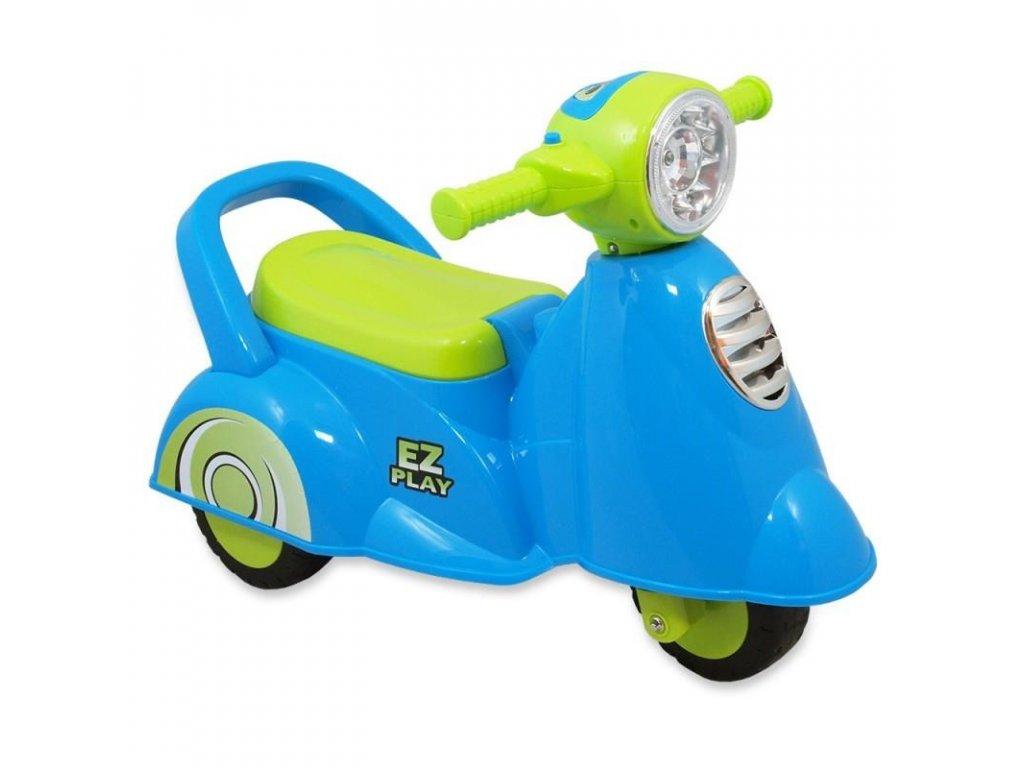 Baby Mix dětské jezdítko skútr modrý