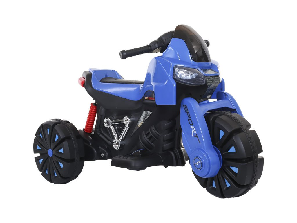 TBK dětská elektrická motorka tříkolová RR 2019 modrá