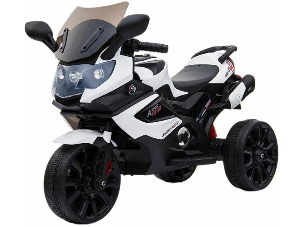 TBK dětská tříkolová motorka GS1300 bílá