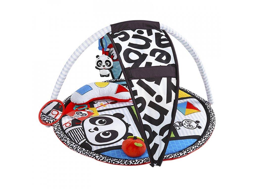 Baby Einstein Deka na hraní Bold New World Panda (2)