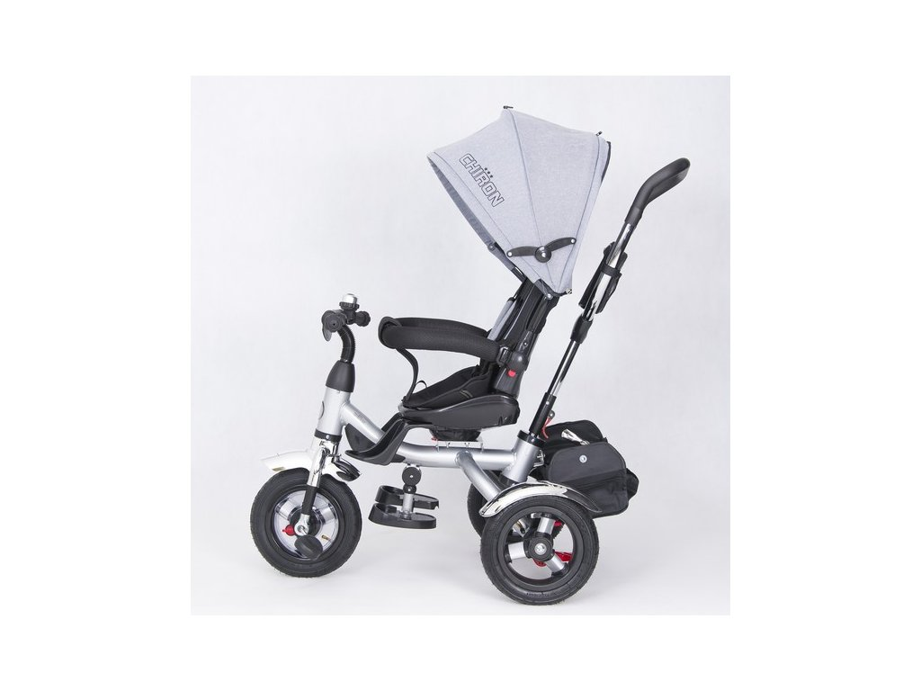 TBK tříkolka Chiron luxusní tříkolka 2020 šedá (19)