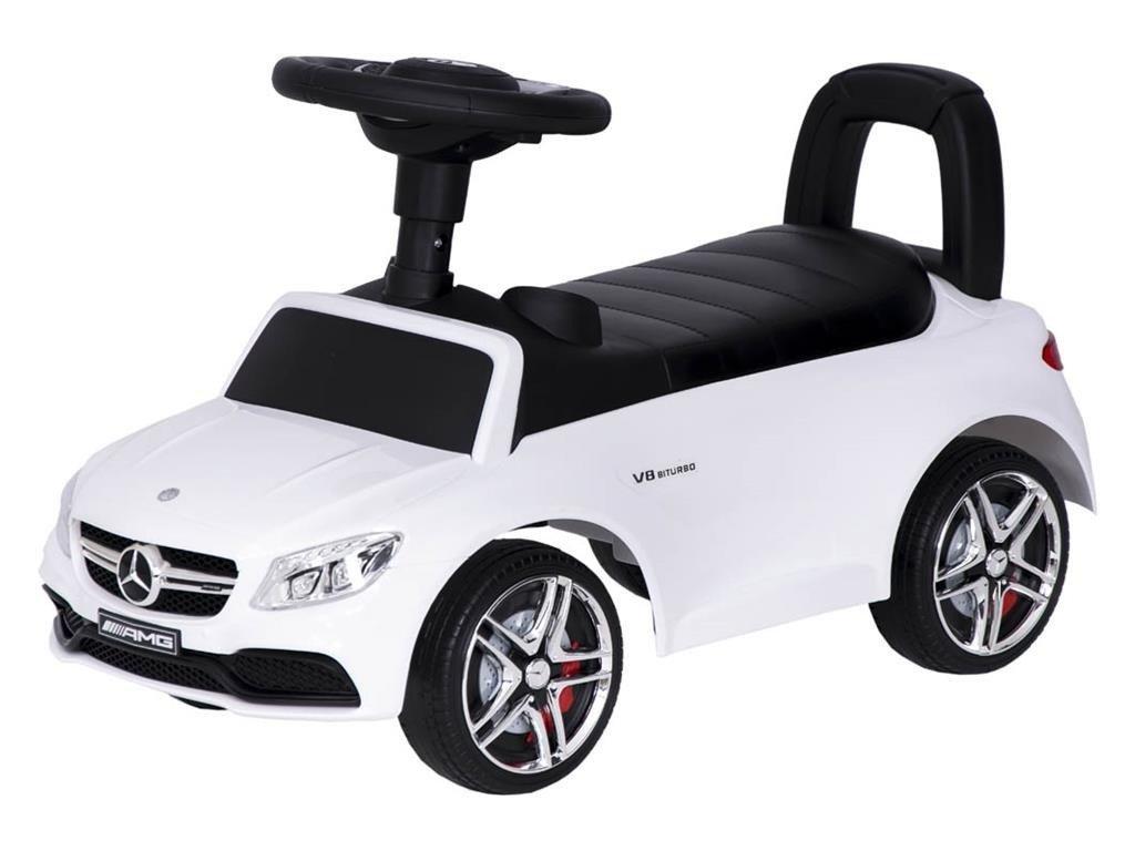 TBK odrážedlo Mercedes V8 biturbo classic K01 bílé (3)