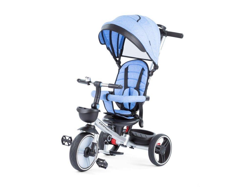 Baby Mix tříkolka Taxi rozložitelná modrá