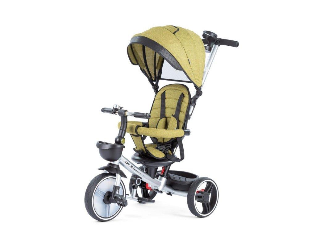 Baby Mix tříkolka Taxi rozložitelná zelená