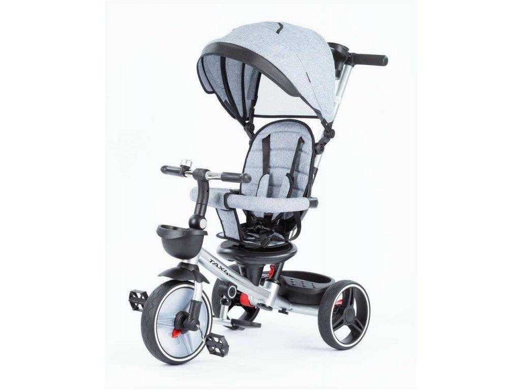 Baby Mix tříkolka Taxi rozložitelná 2020 šedá