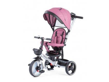 Baby Mix tříkolka Taxi rozložitelná bordová