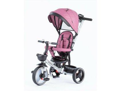 Baby Mix tříkolka Taxi rozložitelná 2020 bordová (2)