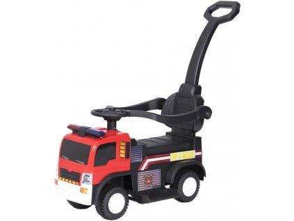 Tobiland hasičské odrážedlo s AKU pohonem 6V a vodící tyčí (2)