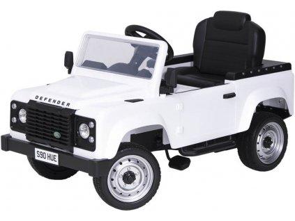 Tobiland šlapací autíčko JEEP kabriolet bílý (1)