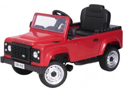 Tobiland šlapací autíčko JEEP kabriolet červený (2)