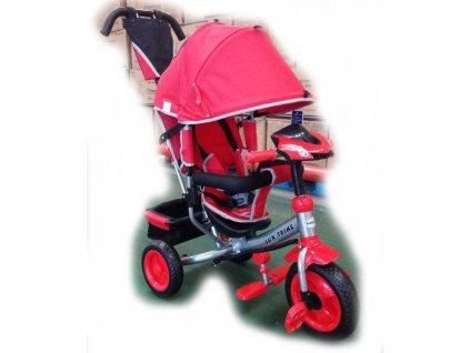 Baby Mix tříkolka s LED světly Lux Trike červená nový model 2020