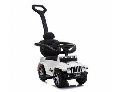 TBK odrážedlo Jeep Rubicon s vodící tyčí 5v1 bílé