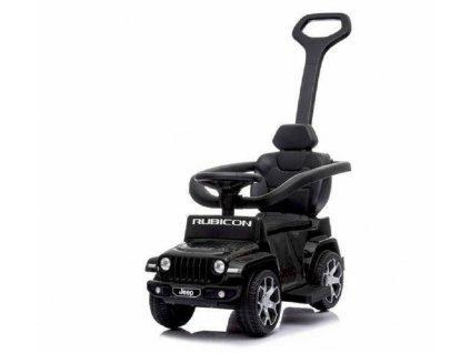 TBK odrážedlo Jeep Rubicon s vodící tyčí 5v1 černé