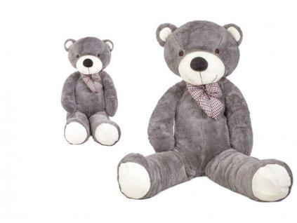Doris XXL plyšový medvěd 180 cm šedý