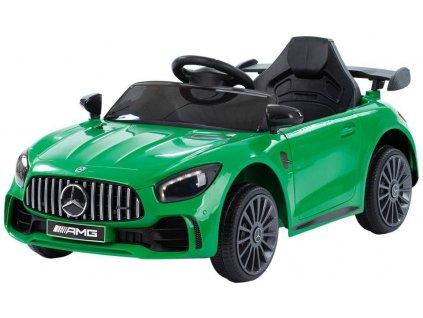 Dětské elektrické autíčko Mercedes Benz AMG GTR zelené (1)