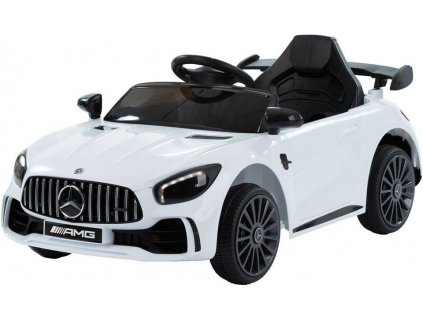 Dětské elektrické autíčko Mercedes Benz AMG GTR bílé (2)