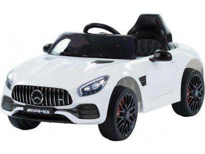 Dětské elektrické autíčko Mercedes Benz GT bílé (2)