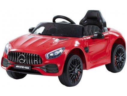 Dětské elektrické autíčko Mercedes Benz GT červené (2)