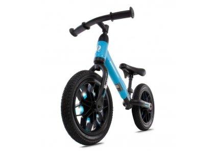 Odrážecí kolo 12 Spark s LED, gumová kola modré (4)
