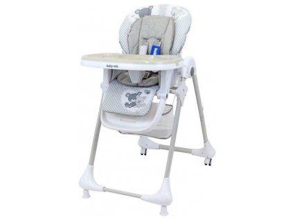 Alexis jídelní židlička INFANT šedá