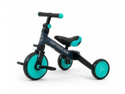 Dětská tříkolka 3v1 Milly Mally Optimus mint (2)