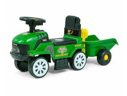 Milly Mally nákladní autíčko Rolly s přívěsem zelené (1)