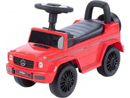 TBK odrážecí autíčko MERCEDES G350d červené (2)