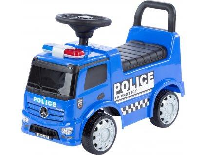 TBK nákladní odrážedlo Mercedes Antos modré (2)