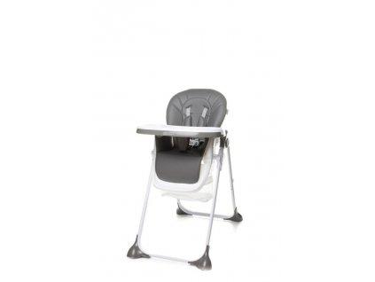 Jídelní židlička 4Baby Decco šedá (9)