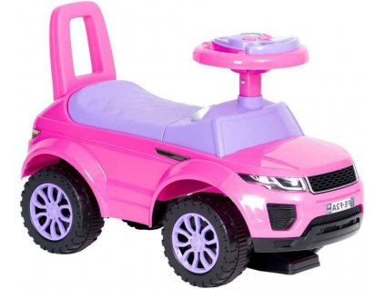 TBK odrážedlo First Range Rover růžové