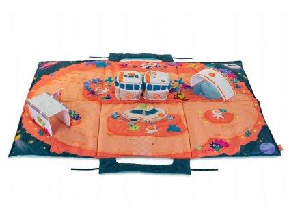 Edukační 3D hrací deka s autíčky VESMÍR