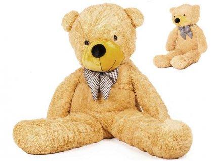 velký plyšový medvěd Doris 130 cm béžový