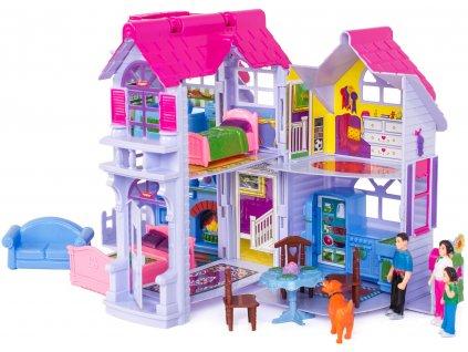 Doris skládací domeček pro panenky4