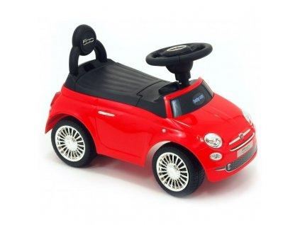 Baby Mix odrážedlo Fiat 500 červené